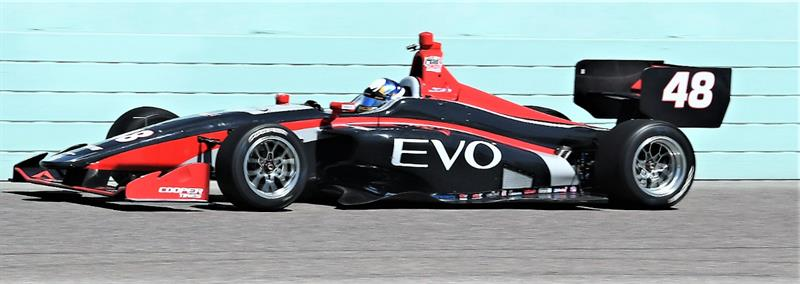 2019 INDY LIGHTS LIVERIES ANDRETTI AUTOSPORT #48 - 2019 INDY LIGHTS CAR 48 HOMESTEAD TEST