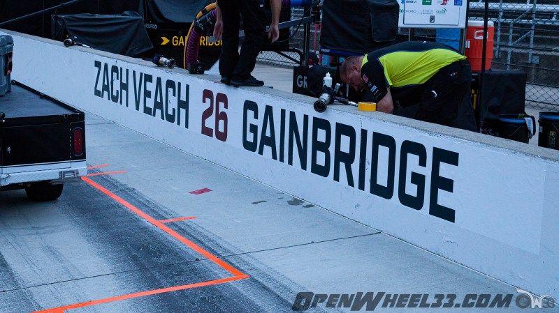 Pit Wall Signs - 2019 103rd Running of the Indianapolis 500 Mile Race - 2019 INDYCAR LIVERIES INDY500 PIT WALL No. 26