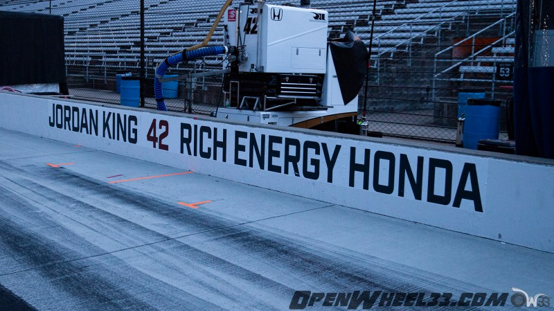 Pit Wall Signs - 2019 103rd Running of the Indianapolis 500 Mile Race - 2019 INDYCAR LIVERIES INDY500 PIT WALL No. 42