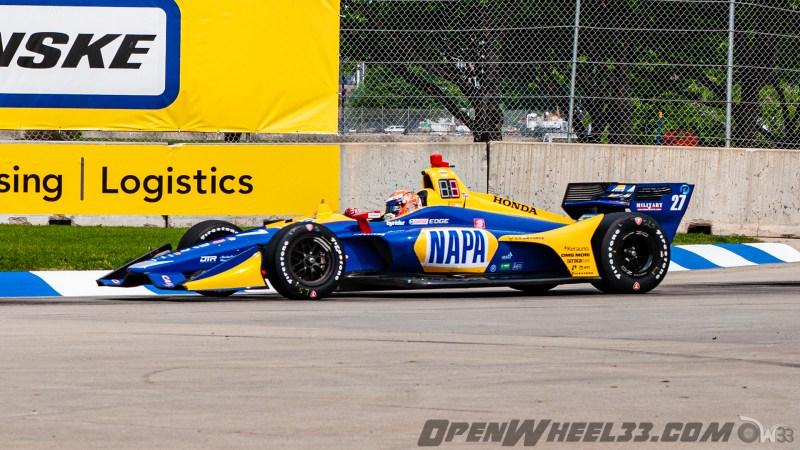 Liveries – 2019 NTT IndyCar Series Chevrolet Detroit Grand Prix - 2019 INDYCAR LIVERIES DETROITGP INDYCAR CAR No. 27