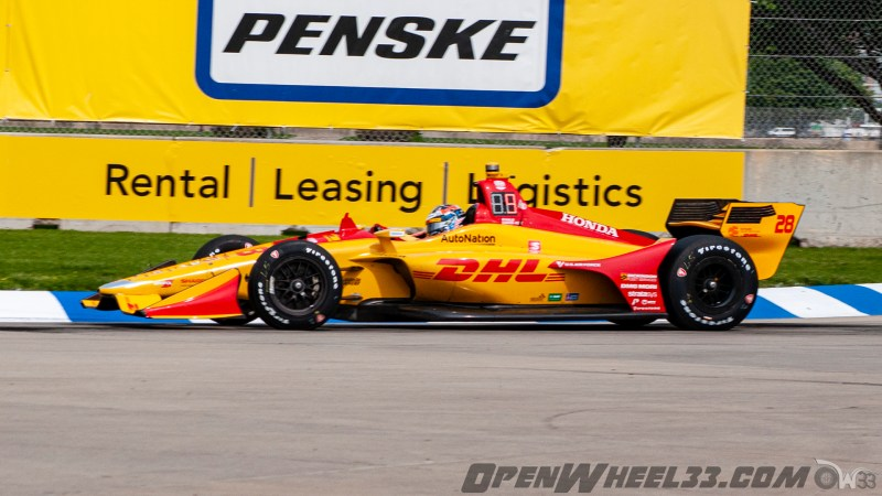 Liveries – 2019 NTT IndyCar Series Chevrolet Detroit Grand Prix - 2019 INDYCAR LIVERIES DETROITGP INDYCAR CAR No. 28