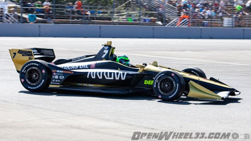 Liveries – 2019 NTT IndyCar Series Grand Prix of Portland - 2019 INDYCAR LIVERIES PORTLAND INDYCAR CAR No. 7