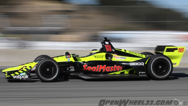 Liveries – 2019 NTT IndyCar Series Firestone GP of Monterey - 2019 INDYCAR LIVERIES LAGUNA INDYCAR CAR No. 18