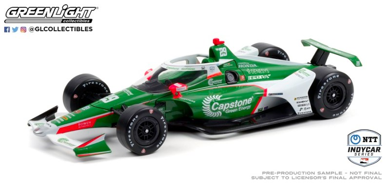2021 INDYCAR LIVERIES MAR GREENLIGHT INDYCAR CAR 29