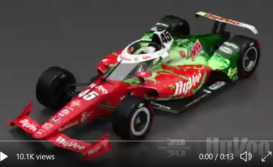 2021 INDYCAR LIVERIES MAY 500 REVEAL CAR 45