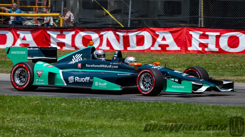 2021 INDYCAR LIVERIES MID OHIO INDYCAR CAR TWO SEATER