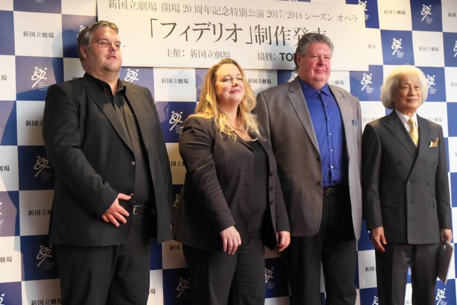 新国立劇場 開場20周年記念特別公演《フィデリオ》の制作発表が行われました