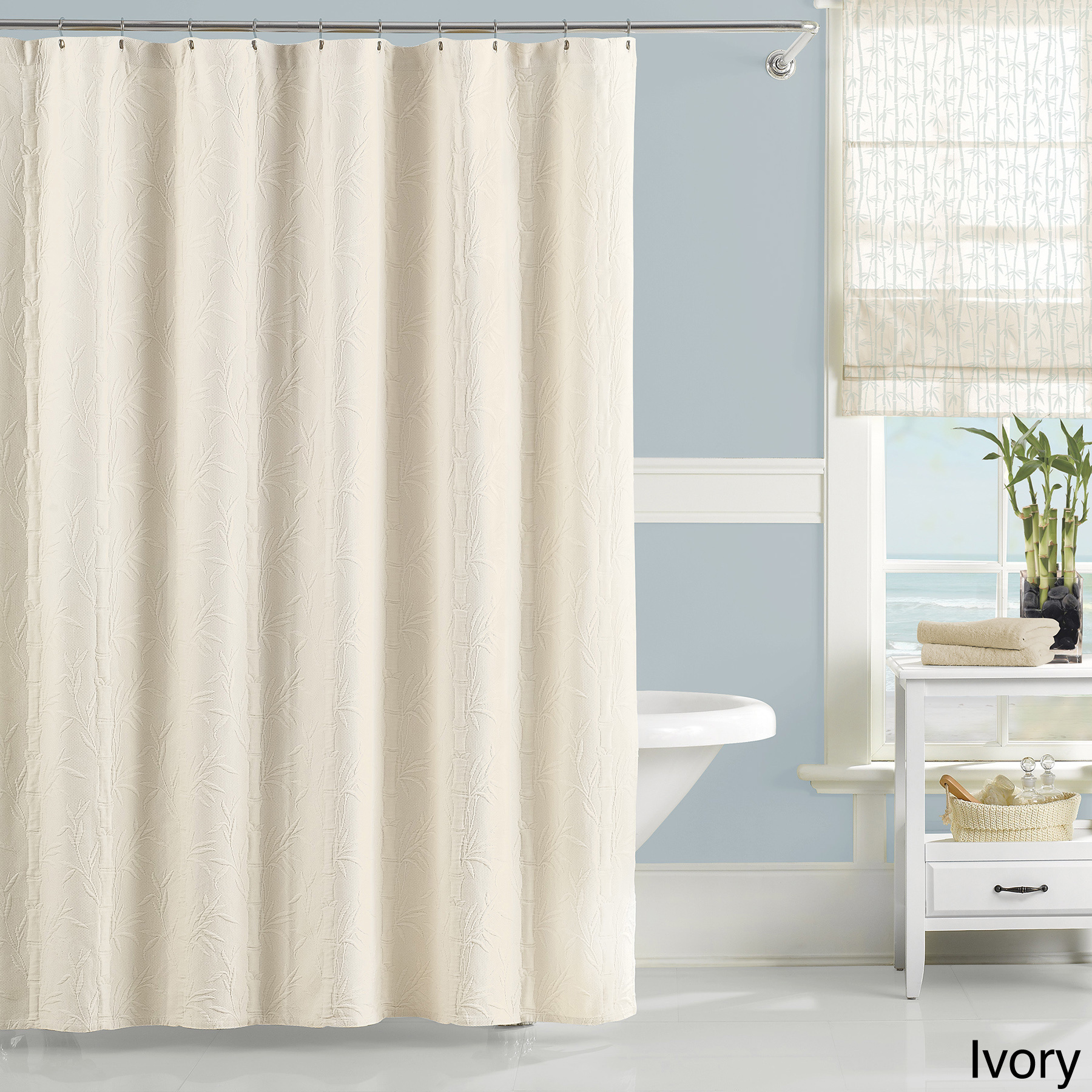 Bathroom Luxury Shower Curtain With Minimalist Luxury Cotton