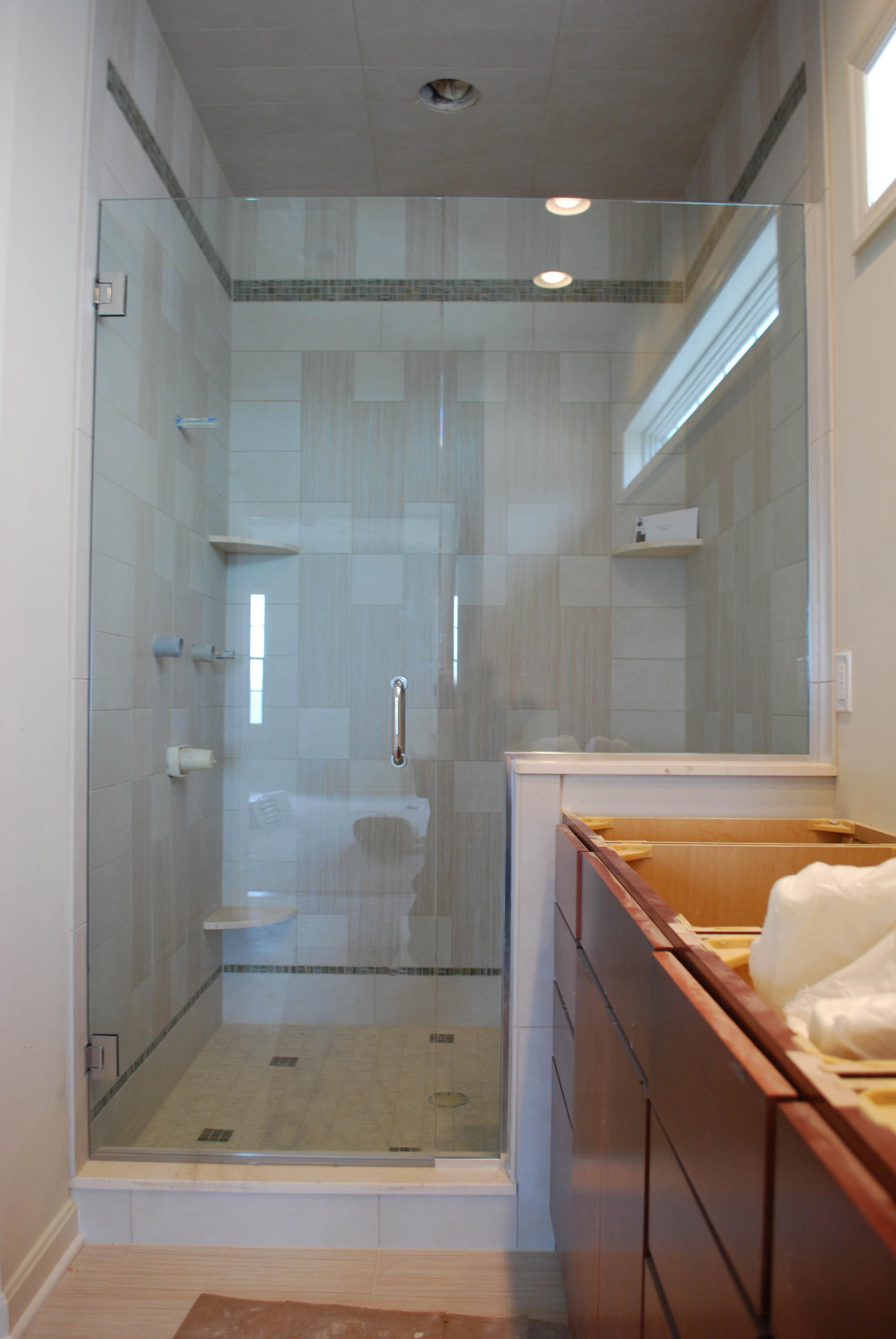 Bathroom New Header Free Shower Enclosure System Do It