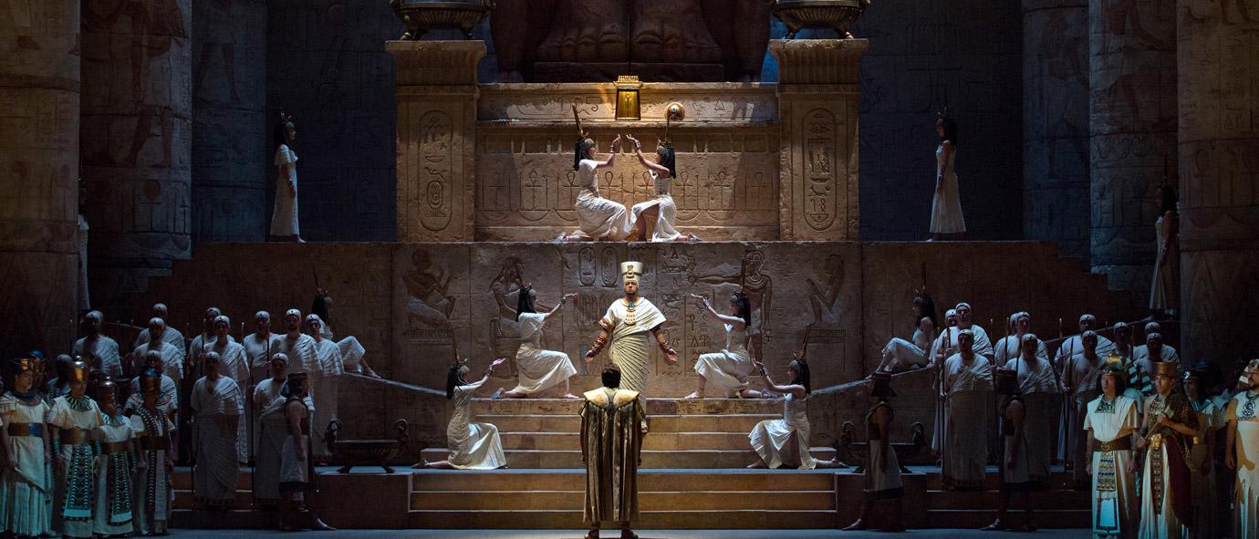 AIDA al Metropolitan Opera di New York