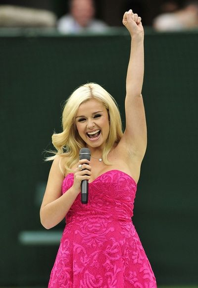 Opera Chic Katherine Jenkins Makes the O Face for