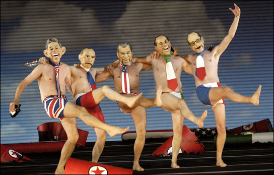 Dancing Heads of State