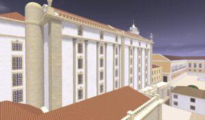 Vista sobre a Ópera Real