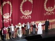 The cast of La Boheme, Bayerische Staatsoper, July 3rd, 2016