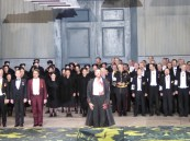 Ante Jerkunica at curtain call, Les Huguenots, DOB