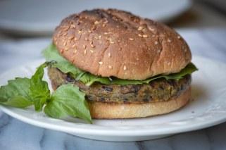 Sweet Earth Za'atar Burger