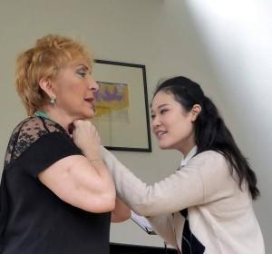Nelly Miricioiu und Jihae Shin: Meisterklasse in Amsterdam/ Foto  Jeanne Doomen