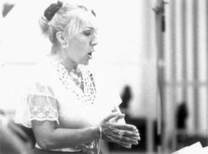 "Nelly Miricioiu: recording ""Rosmonda d´Inghilterra"" für Opera rara/ Dank an Opera rara/ Duncan Russell"