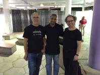 With Dave Smith, inventor of MIDI (or so they say), and Morris Porter, visionary composer and producer and brilliant YouthVille mentor of beatmaking and DJ'ing.