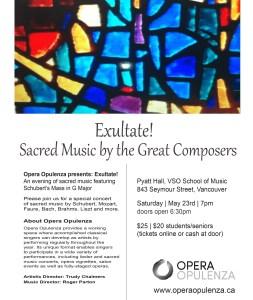 Sacred concert poster 5