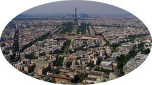 Paris from 210 meters