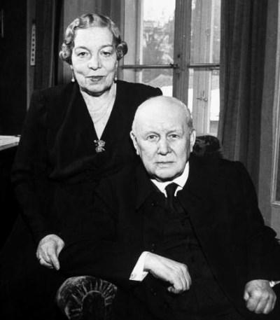 Franz Lehár s manželkou Sophie