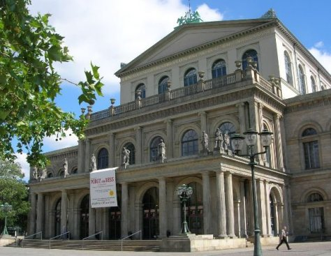 Opernhaus Hannover, Foto: Biggi  / pixelio.de