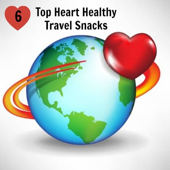 Top Heart Healthy Snacks for Travel by www.Operation40k.com