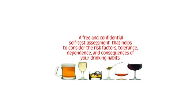 Free & Confidential Alcohol Consumption Assessment