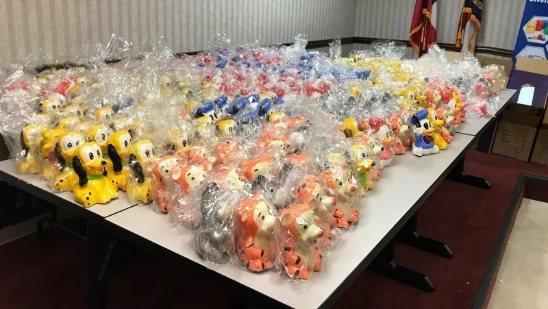 500 pounds of meth worth about $2M found in Disney figurines