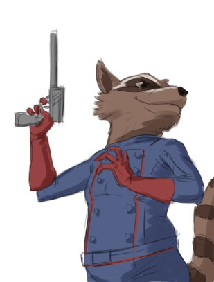 Evaun - Rocket Raccoon