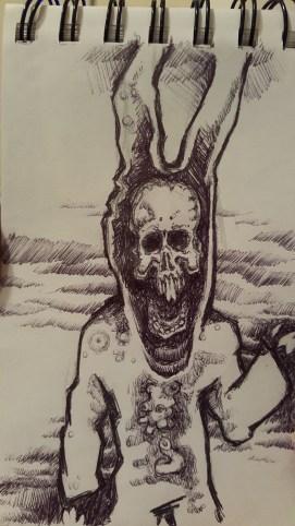 Micah - Skull bunny