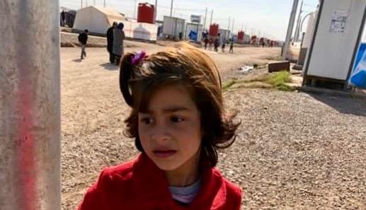ZAHRA 7yo hearing aide Khazir camp
