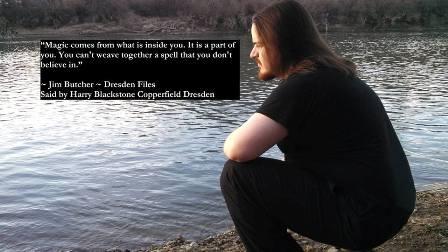 Blaze Lee Satanist Druid