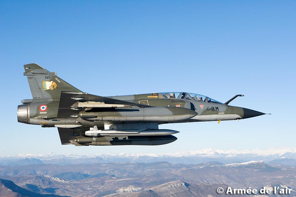 Crash dun Mirage 2000 B  proximit de la base dOrange  Oprationnels  Soutien Logistique