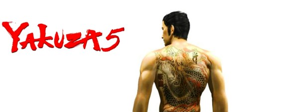 Yakuza 5 logo