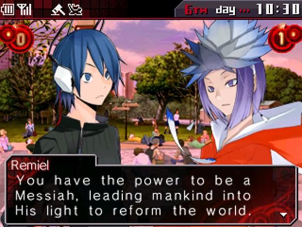 Shin Megami Tensei: Devil Survivor Overclocked   Talking to a Possessed Amane