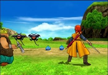 Dragon Quest XI - Fighting