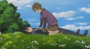 Shin Sekai Yori - Older Satoru and Shun.