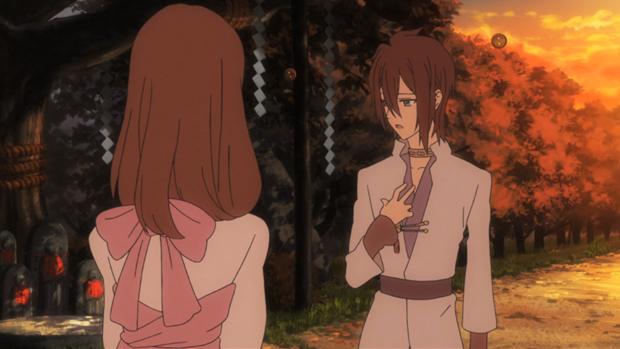 Shin Sekai Yori Shun and Saki