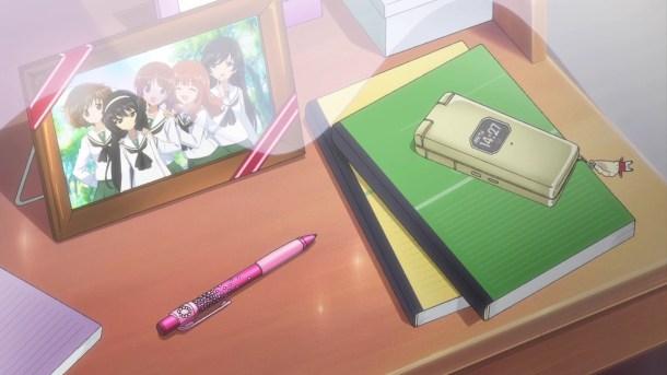 Girls und Panzer Yukari, Mako, Miho, Saori, and Hana