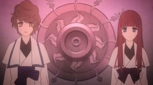 Shin Sekai Yori - Mamoru and Maria