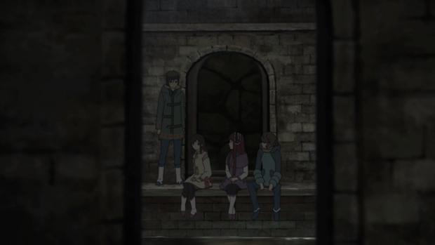 Shin Sekai Yori - Satoru, Saki, Maria, Mamoru