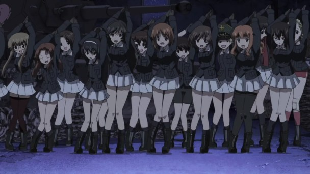 Girls und Panzer Dance