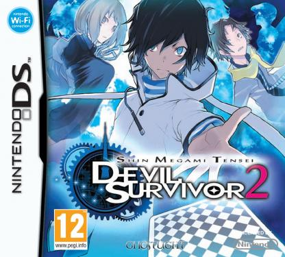 Shin Megami Tensei: Devil Survivor 2 European box art