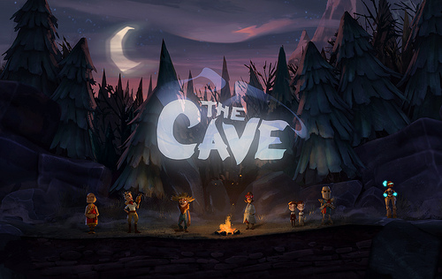 The Cave Title Screen (?)