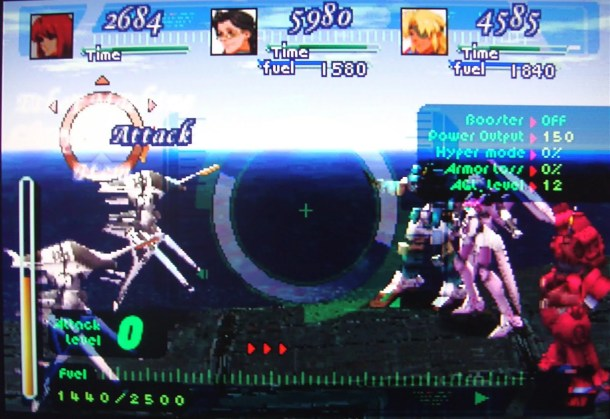 Xenogears combat shot