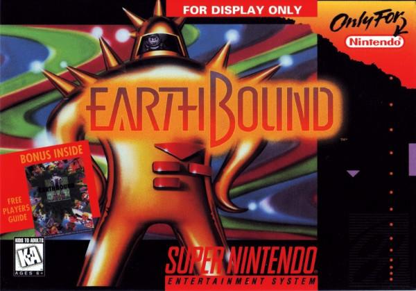 Earthbound Box Art