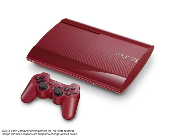 PlayStation-3 red2