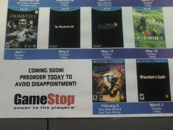 gamestop rumor poster